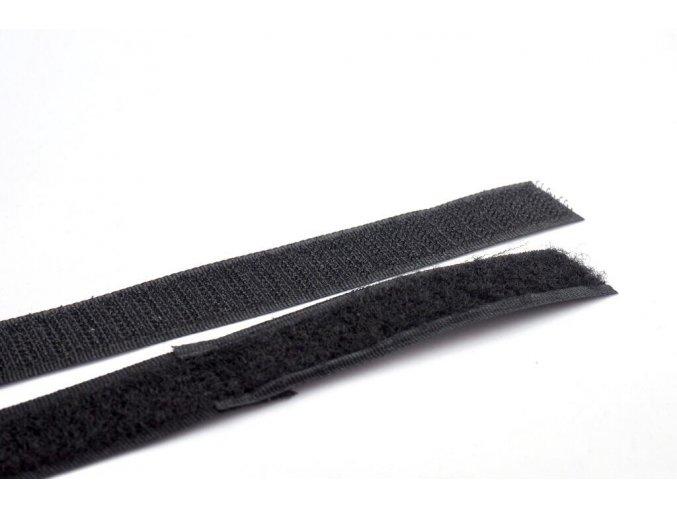 suchý zip černý 1