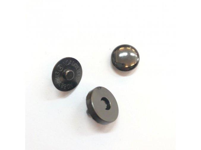 magneticke zapinani 14 mm s nytkem cerny nikl
