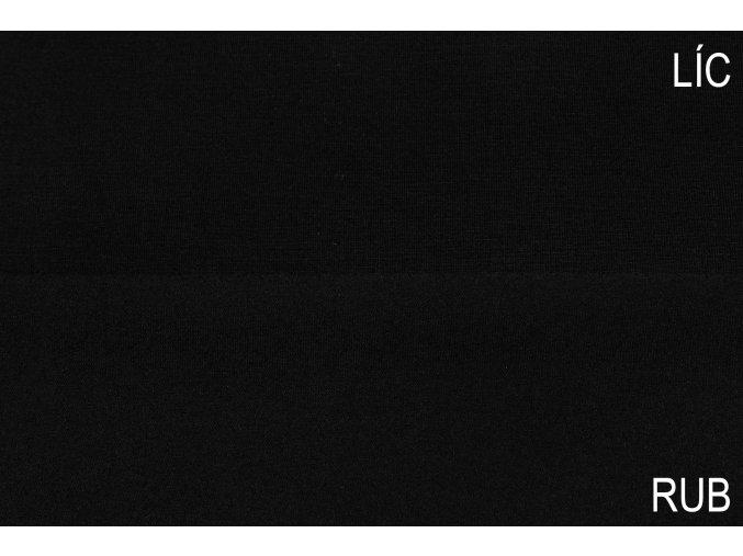 Bambusový úplet černý