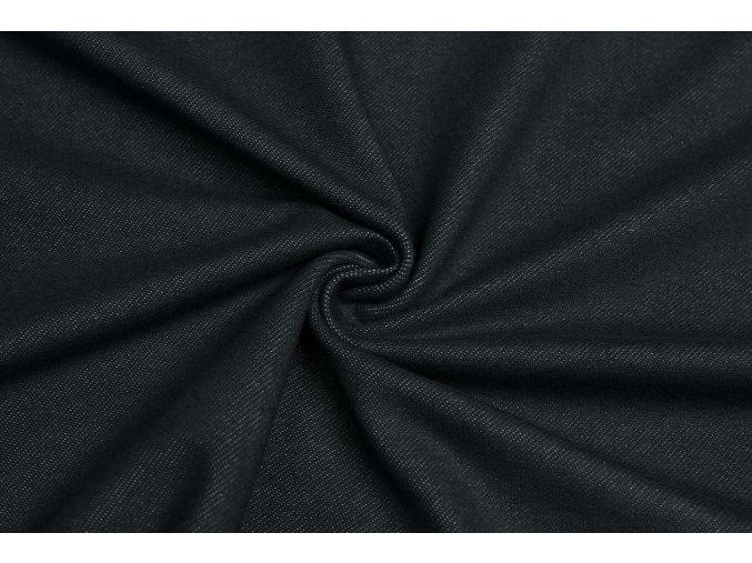 bavlneny uplet vysokogramazni jeans modrocerna