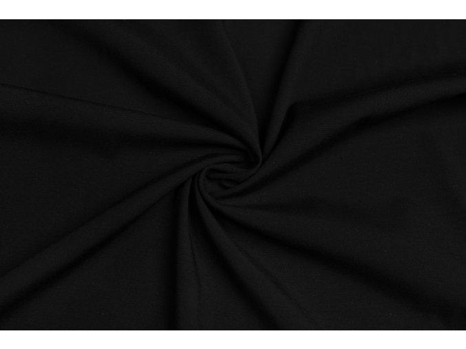 viskozova tkanina strecova cerna