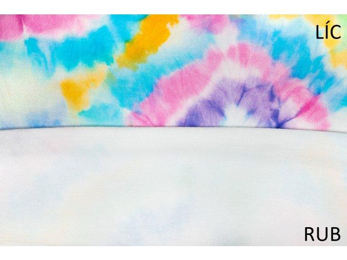 teplakovina barevna batika