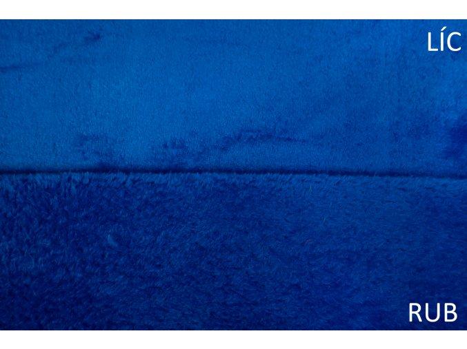 cuddle fleece kralovsky modry