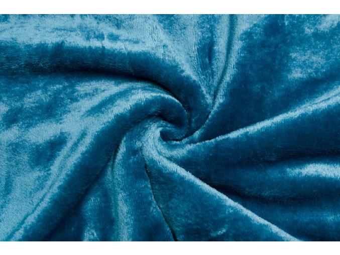 cuddle fleece petrolejovy