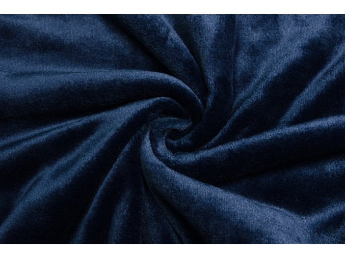 cuddle fleece modry navy