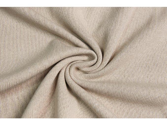 35184 svetrovina bezova 100 bavlna