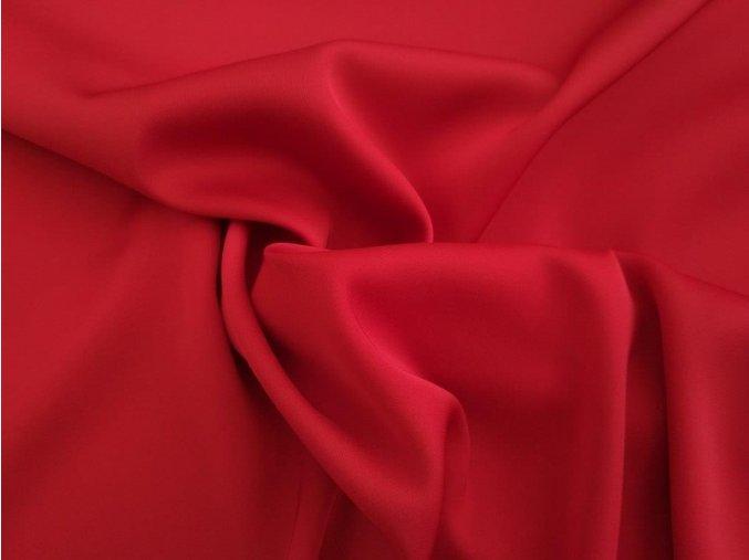 hedvábí červené temné