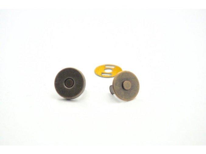 magnetické zapínání průměr 10 mm