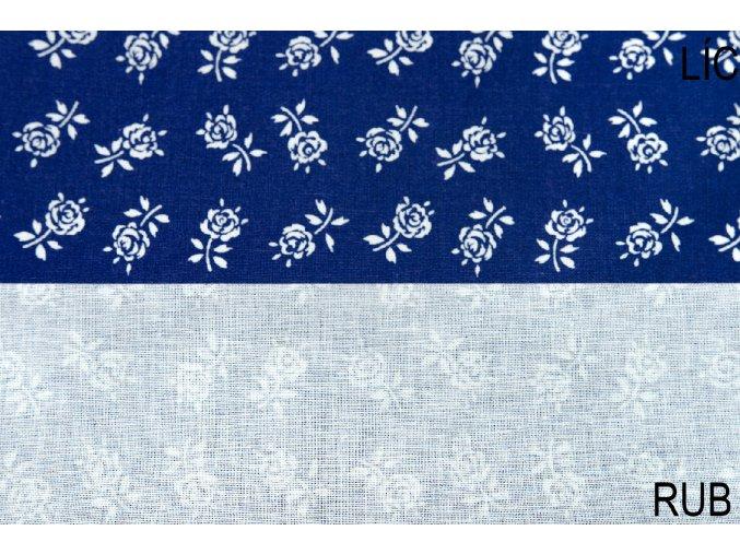 bavlna kytka růží (2)