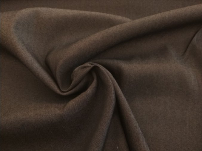 bavlna strečová černá