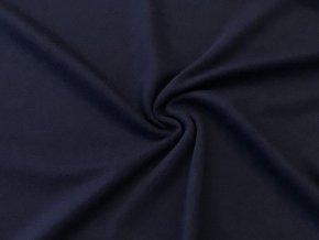 Oboulící úplet tmavě modrý