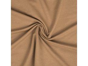 teplakovina elasticka camel 240 g (2)