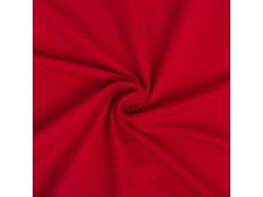 Teplákovina elastická červená 1