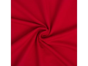 Teplákovina elastická červená 240 g