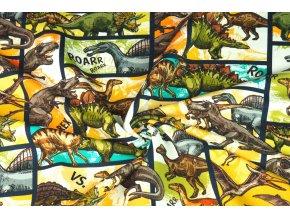 Teplákovina komiks dinosauři 1