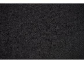 Úplet jednolíc černý - 100 % Merino vlna