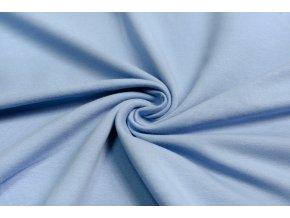 teplakovina elasticka nebesky modra 240 g 1