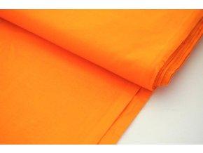 Bavlněné plátno oranžové