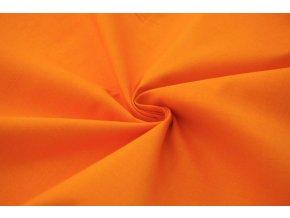 Bavlněné plátno oranžové 1