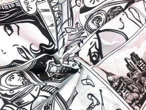 bavlna rezna komiks cernobily1