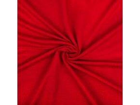 Teplákovina micromodal červená1