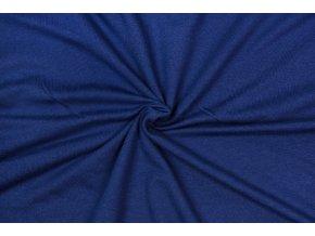 teplakovina micromodal monaco modra