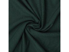 teplakovina elasticka lahvove zelena 240 g