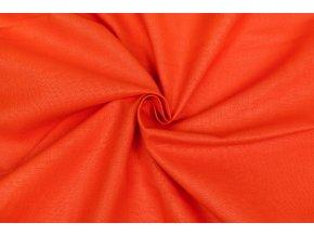 bavlnene platno oranzove tmave