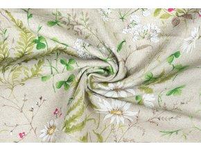 bavlna rezna lucni kviti s kapradim na rezne2