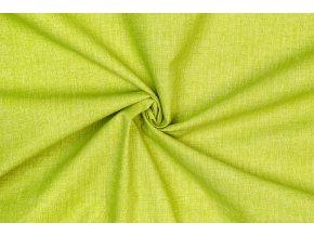 Bavlněné plátno melír zelený