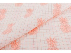 bavlna ananas na smetanove