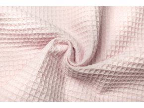 bavlna vafle svetle ruzove1