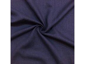 lnena tkanina modrofialova