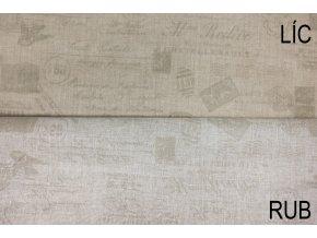 bavlnene platno postovni znamky