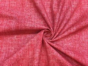 bavlnene platno cervene mele1