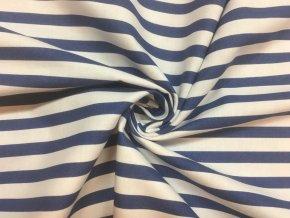 bavlnene platno modrobile pruhy tmave 1 cm1