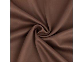 Zatemňovací látka čokoládová hnědá