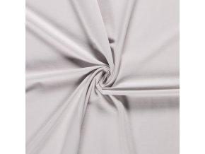 bavlneny uplet jednolic belave sedy