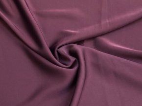 Umělé hedvábí Silky lila tmavá