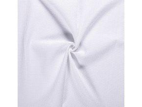 Bavlna vafle sněhově bílé