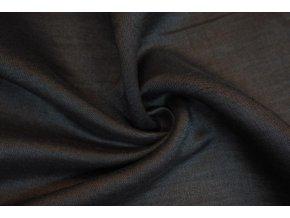 Tencel riflovina odlehčená černá