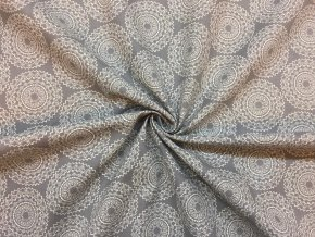 bavlnene platno mandaly bile na sede 3