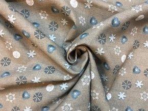 bavlnene platno male vanocni ozdoby na sede4