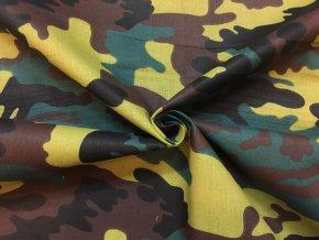 bavlnene platno zeleny maskac3