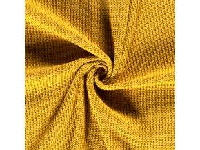 svetrovina vzhled pletena horcicova