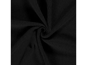 svetrovina vzhled pletena cerna