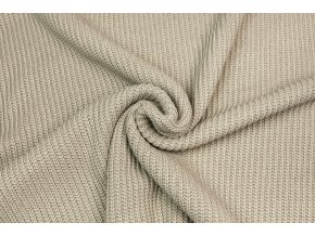 22367 svetrovina vzhled pletena bezova