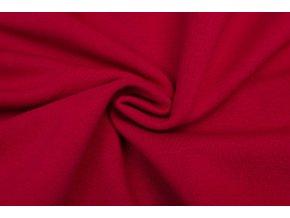 teplakovina pocesana cervena 320 g m2