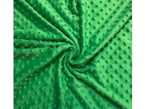 minky travova zelen 1