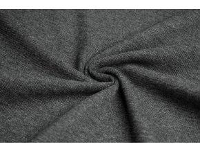 Náplet tmavě šedý melír 1